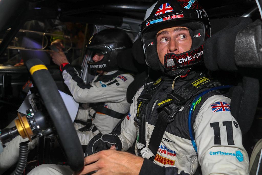 Ingram Chris, GBR, Toksport WRT, Skoda Fabia R5, Portrait during the 2018 European Rally Championship ERC Barum rally,  from August 24 to 26, at Zlin, Czech Republic - Photo Alexandre Guillaumot / DPPI