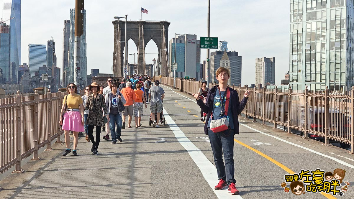美國紐約-布魯克林大橋-45
