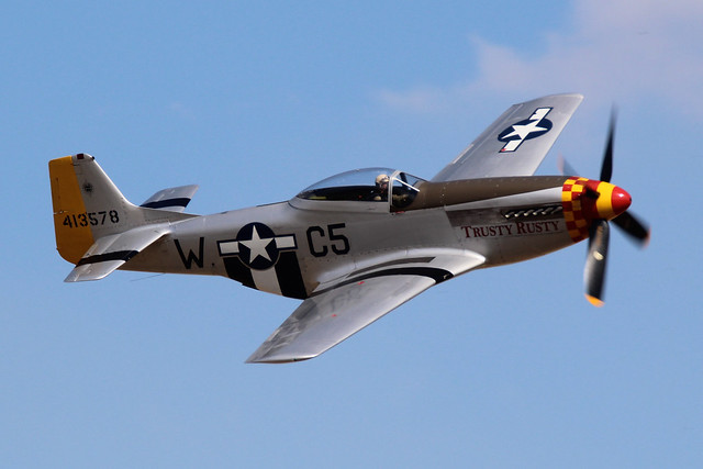 North American P-51D Mustang, Canon EOS 1200D, Tamron SP 150-600mm f/5-6.3 Di VC USD