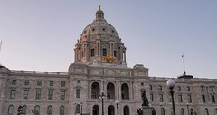 Minnesota State Capitol - Day to Night Hyperlapse