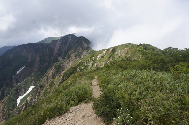 The way in the sky for Mt. BESSAN