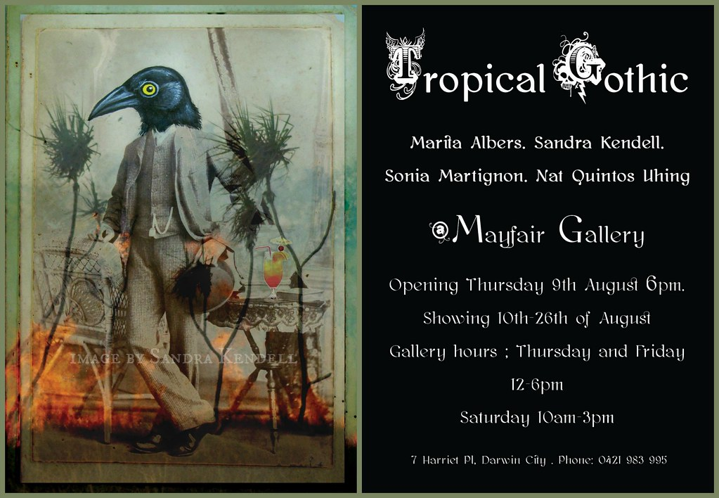 Tropical Gothic invite