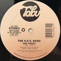 THE S.O.S. BAND:THE FINEST(LABEL SIDE-A)