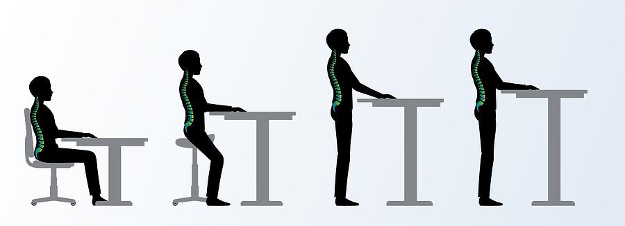 height adjustable desk benefit