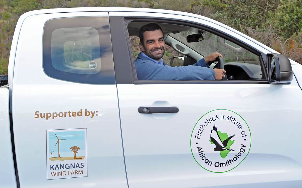 Kangnas wind farm partners with Fitzpatrick Institute in support of bird study, South Africa