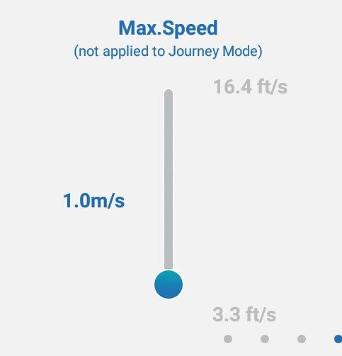 1 rpm radius and rate settings for Breeze