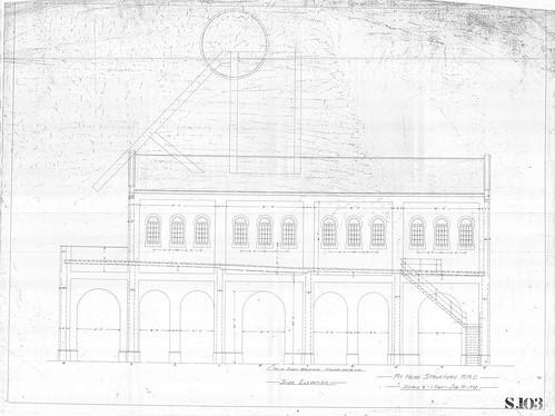 S103 RMC Pit top building arrangement - elevation