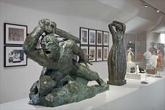 Guerrier d'Antoine Bourdelle (Musée Camille Claudel, Nogent-sur-Seine)