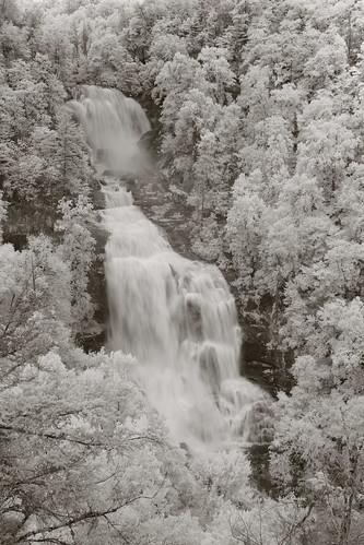 westernnorthcarolina nantahalanationalforest waterfall infrared pentax k5 rokinon13524mmedasumctiltshift tiltshift iridientdeveloper