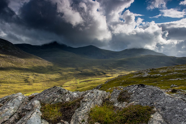 From Meall Breac.