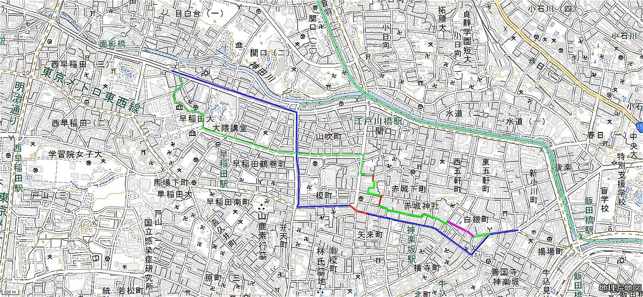 20180704_早稲田-筑土八幡町