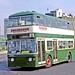 Swanbrook, Staverton: HTO101D leaving Swindon bus station for Carterton