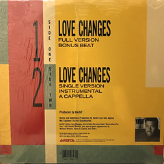 KASHIF + MELI'SA MORGAN:LOVE CHANGES(JACKET B)