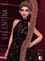 NEW!  Valentina E. Phoebe Lace Bodysuit in August Bound Box!