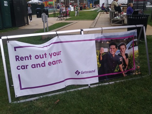 Getaround car sharing at Arlington County Fair