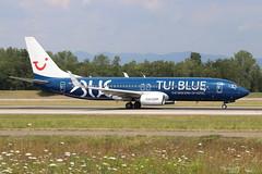 Boeing 737 -8K5 TUIFLY D-ATUD 34685 Mulhouse juillet 2018