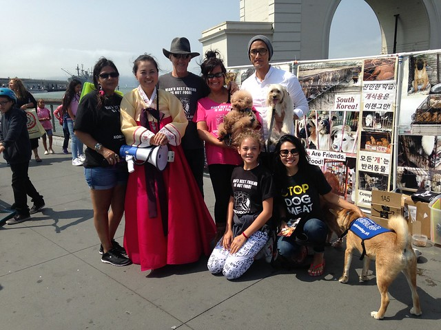 San Francisco, Fisherman's Wharf Leafleting Event – August 18, 2018