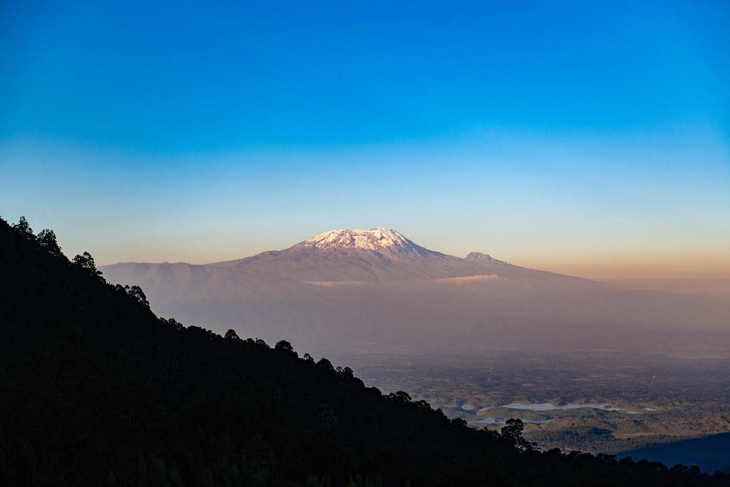 Kilimanjaro as seen from Mount Meru
