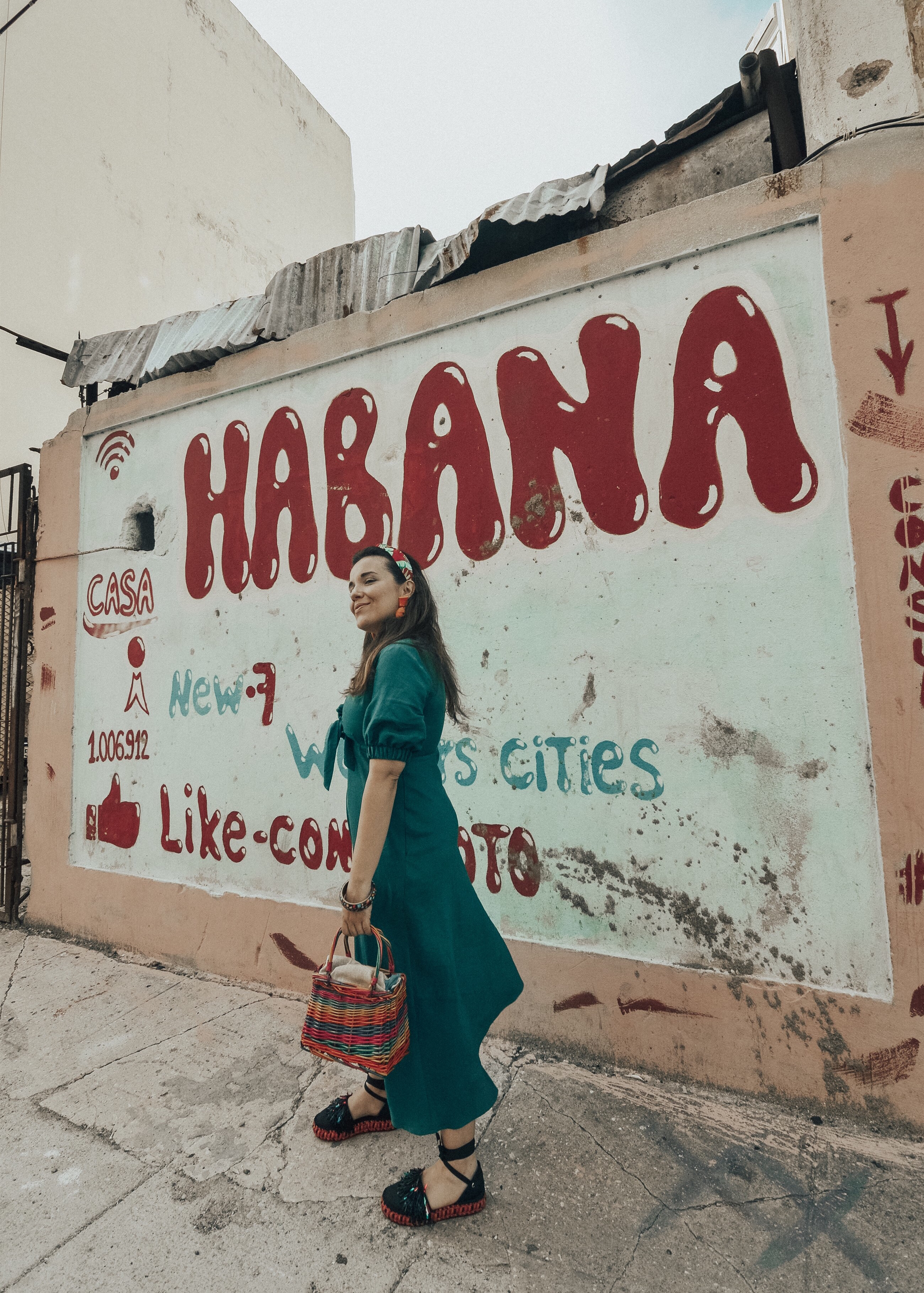 la habana-vestido-verde-lino-look-streetstyle-cuba