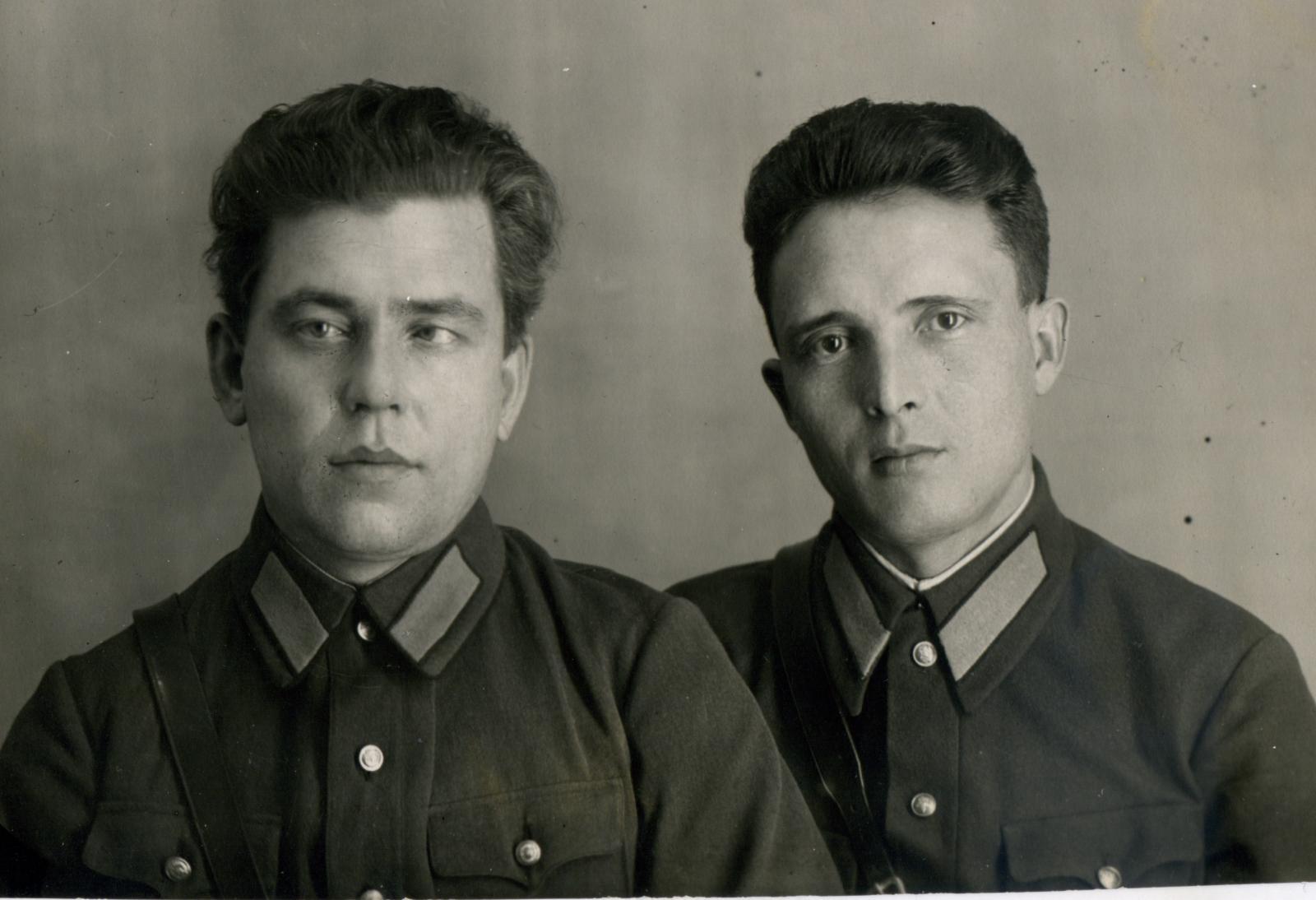 1939.  2 милиционера. Уфа