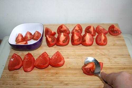 36 - Tomaten entkernen / Decore tomatoes