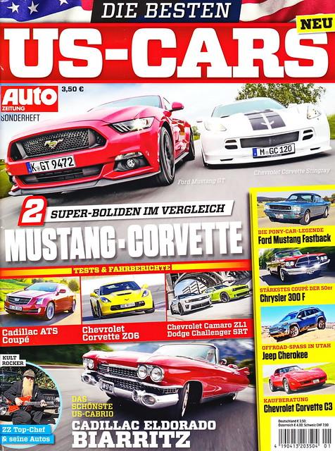 Auto Zeitung - US-Cars 1/2015