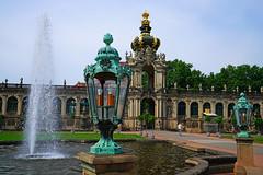 Kronnentor, Crown Gate of Zwinger Palace, Dresden