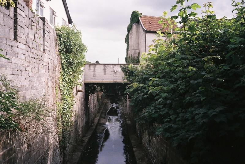 Brislington footbridge - looking south