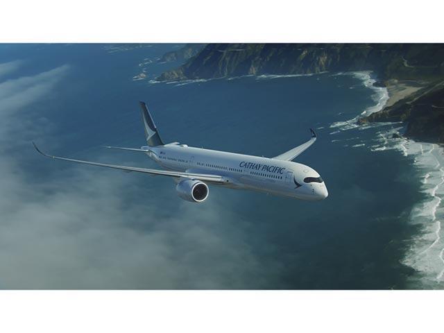 國泰航空網站圖片