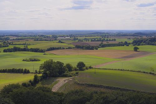 grüne Felder - weites Land