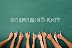 borrowing rate