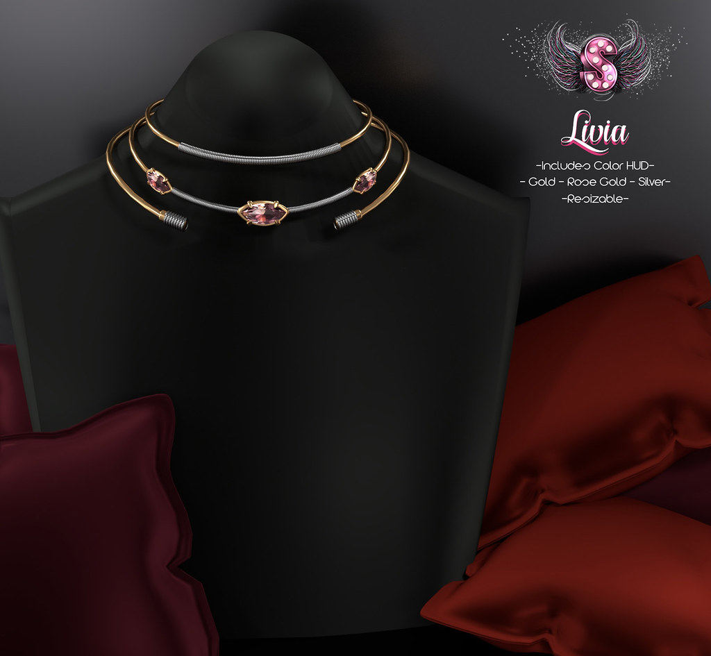 .::Supernatural::. Livia Necklace Set @ ACCESS EVENT - TeleportHub.com Live!