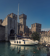 Sirmione Castle, Lago di Garda, Italy