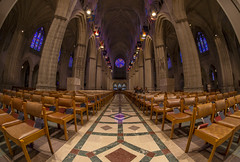 Washington National Cathedral Fisheye Lens