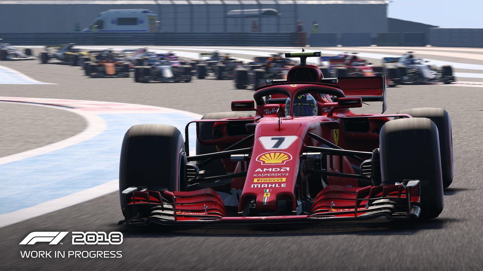 Codemasters F1 2018 Game 4