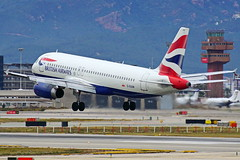 G-EUUM A320-232 British Barcelona-El Prat 21-02-16