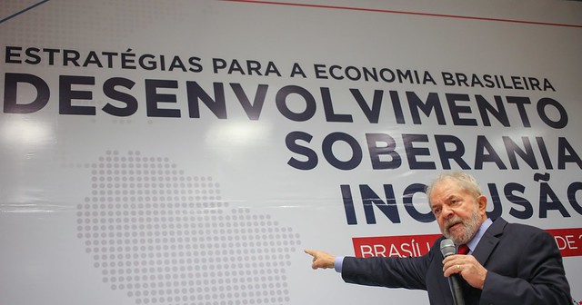 Brasileiros sentem nostalgia da gestão econômica de Lula - Créditos: Ricardo Stuckert