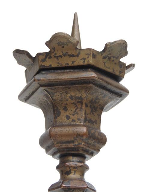 2 1 Harjes Metallkunst Bronze Tischleuchter /'2581/' Kerzenleuchter Kerzenständer