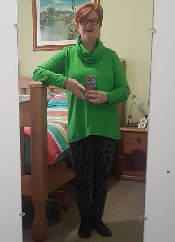Style Arc Freya in green merino