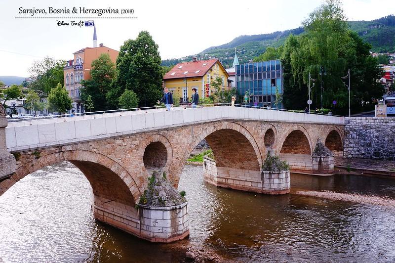 2018 Bosnia Sarajevo Latin Bridge