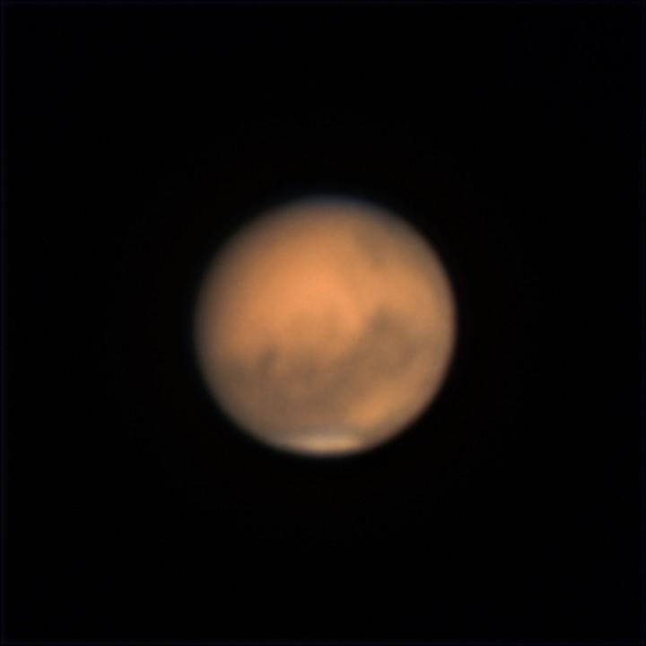 火星 (2018/8/14 20:38-20:51) (2000/5000 x4 de-rotation (20:44) LRGB(IR+RGB))
