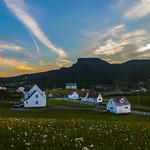 2. Juuli 2018 - 2:09 - Coucher de soleil sur Percé Gaspésie