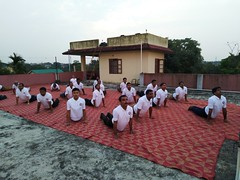 Yoga Day Report VKV APT Dibrugarh
