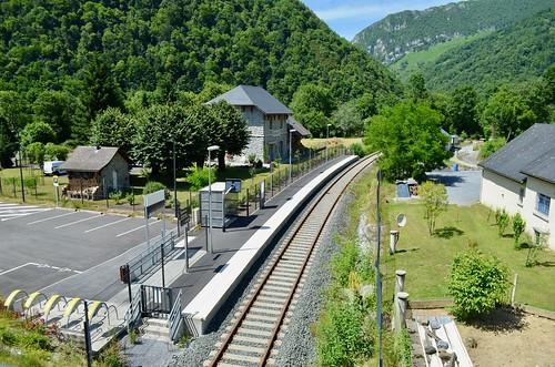 Gare SNCF de Sarrance - 24/06/18