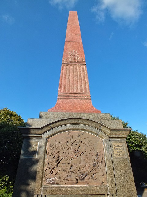 Plymouth Boer War monument, Fujifilm FinePix HS20EXR