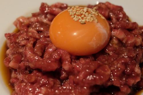 常陸牛(黒毛和牛)のユッケRaw beef meat ユッケ NO MEAT, NO LIFE 5go 09