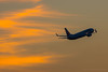 Photo:Boeing 737 in susnet sky By kimtetsu
