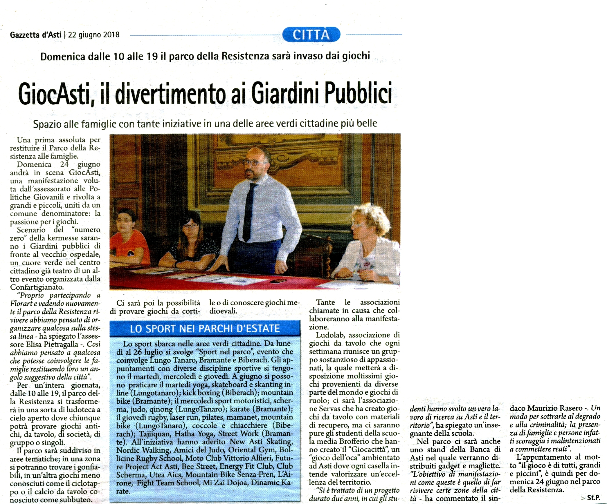 2018-06-22 La Gazzetta d'Asti