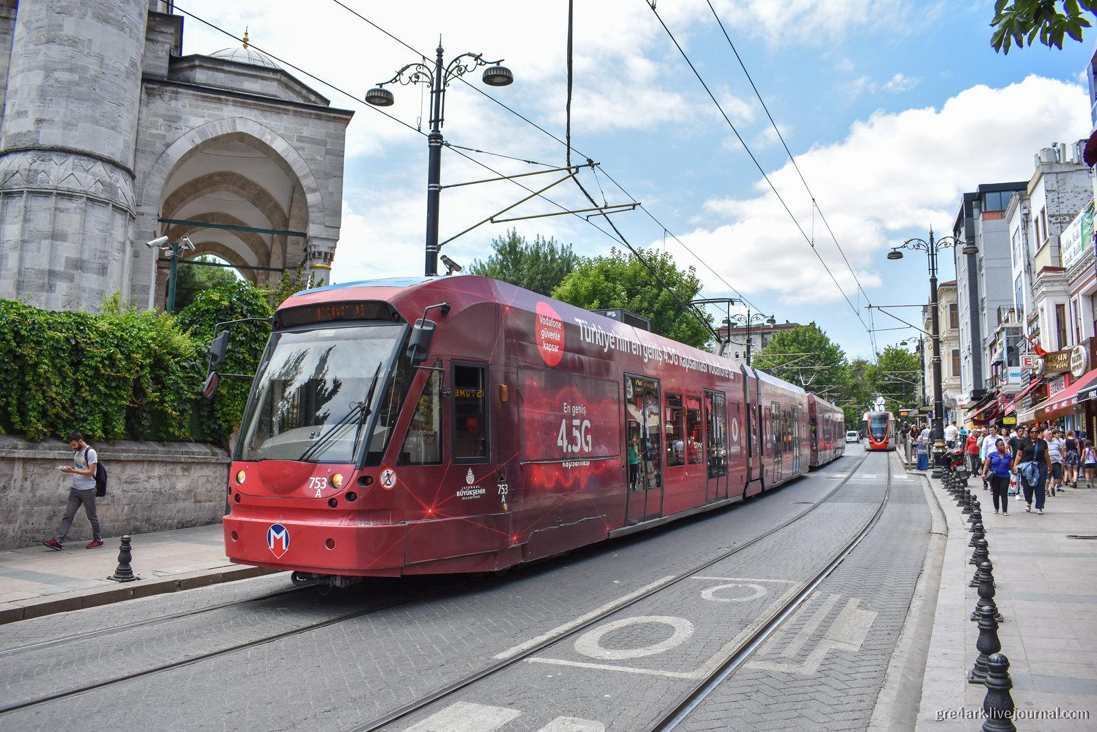 Трамвай Стамбула – идеальный городской трамвай