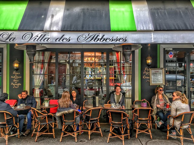 Paris France  - La Villa des Abbesses - 61 rue des Abbesses, 75018 Paris, France